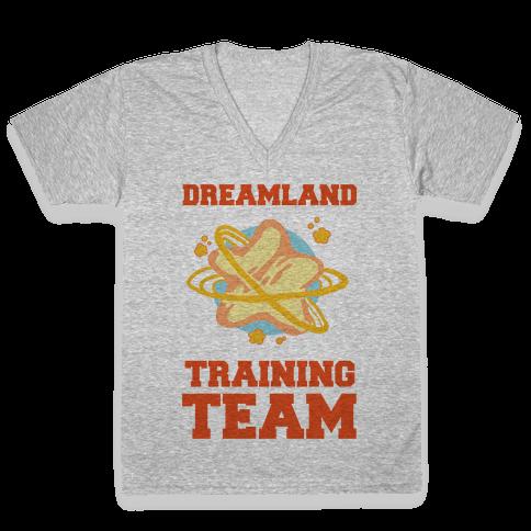 Dreamland Fitness Team V-Neck Tee Shirt