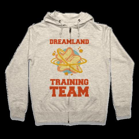 Dreamland Fitness Team Zip Hoodie