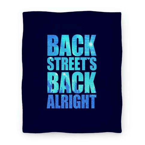 Backstreet's Back Alright! Blanket