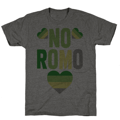No Romo Mens T-Shirt