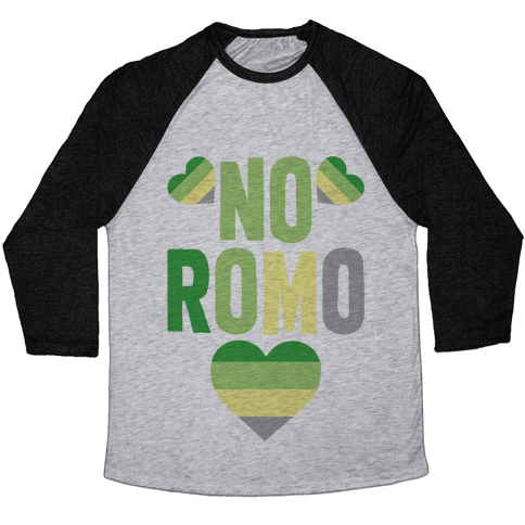 No Romo Baseball Tee