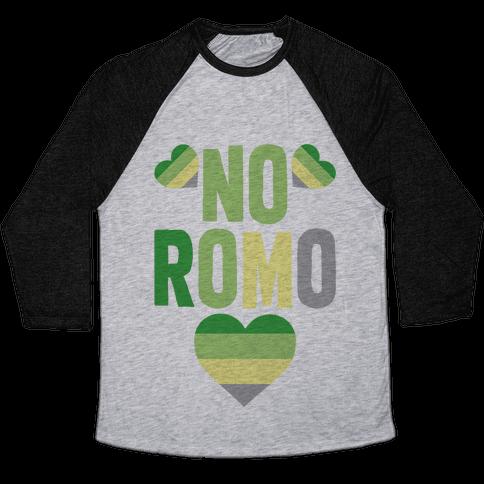 No Romo Baseball Tee