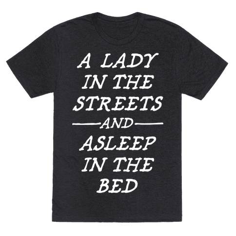 A Lady In The Streets