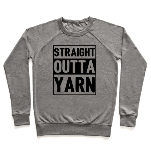 Straight Outta Yarn Pullover