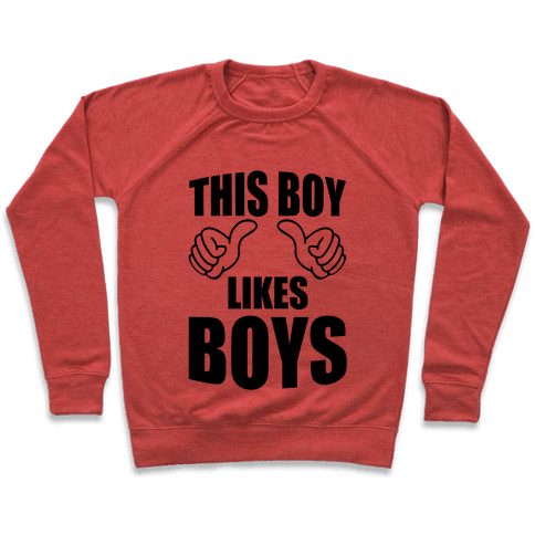 This Boy Likes Boys Pullover