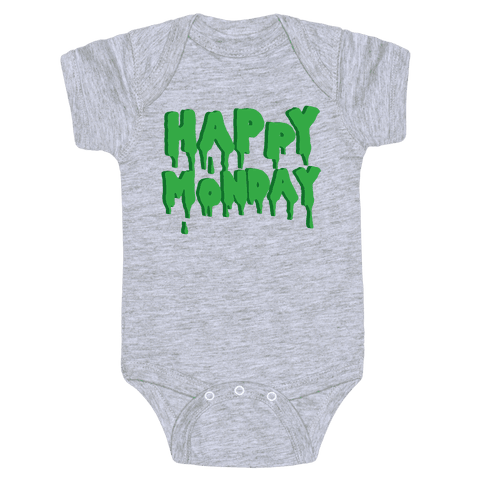 Happy Monday Baby Onesy