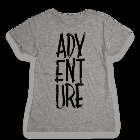 Adventure Womens T-Shirt