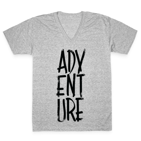 Adventure V-Neck Tee Shirt
