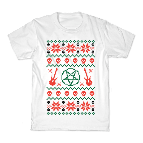 Heavy Metal Christmas Sweaters T Shirts Lookhuman