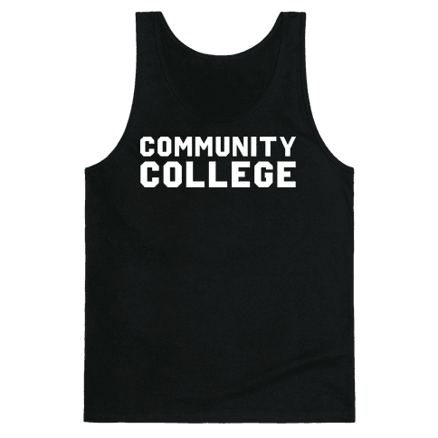 Community College Tank Top