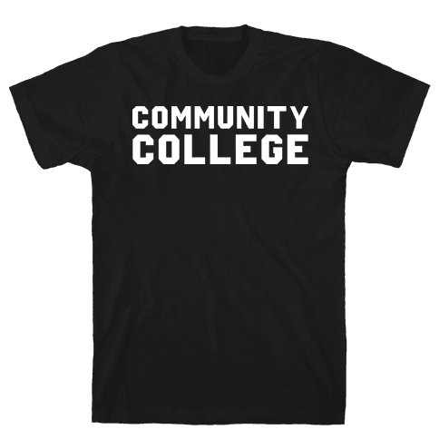 Community College Mens T-Shirt