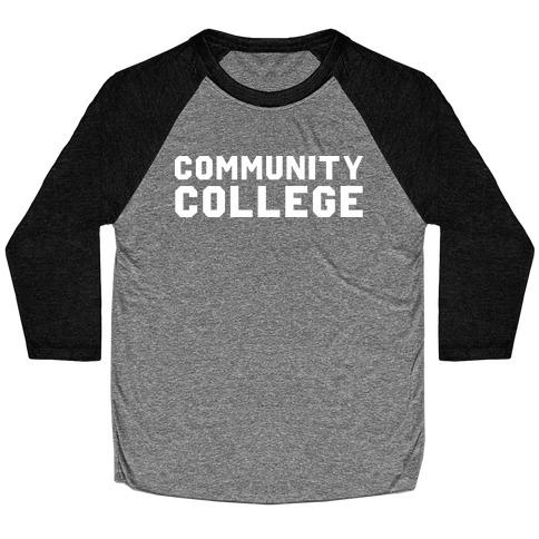 Community College Baseball Tee