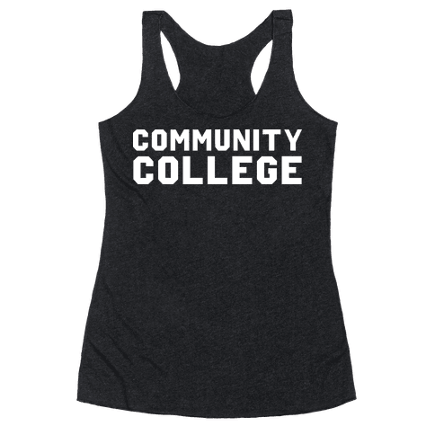 Community College Racerback Tank Top