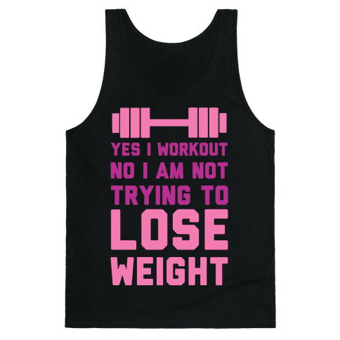 Yes I Workout Tank Top