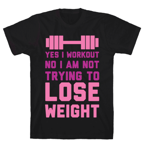 Yes I Workout Mens T-Shirt