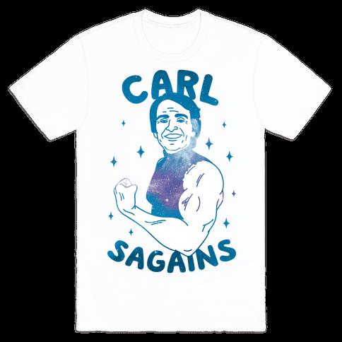 Carl SaGAINS Mens T-Shirt