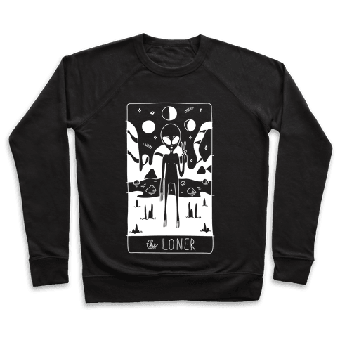 The Loner Tarot Card Pullover