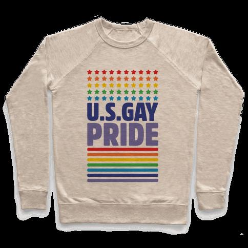 USA Gay Pride Pullover