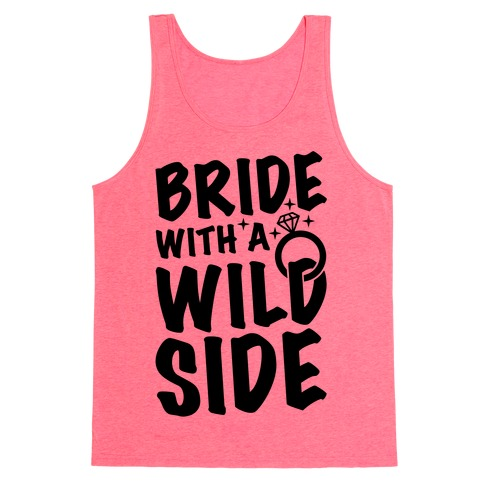 Bride With A Wild Side Tank Top
