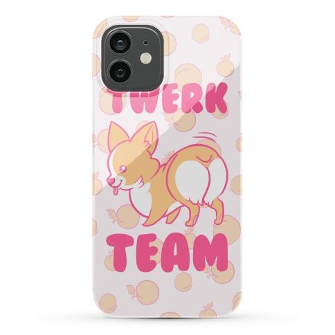Twerk Team Corgi Phone Case