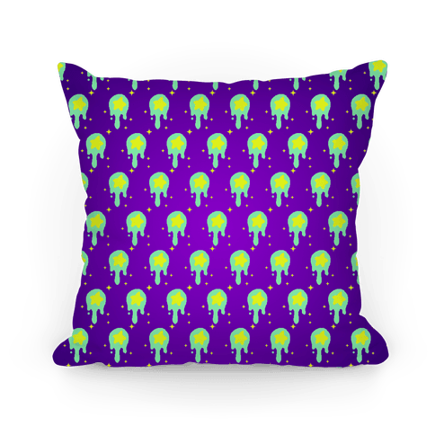 Gooey Pixel Star (Pattern) Pillow
