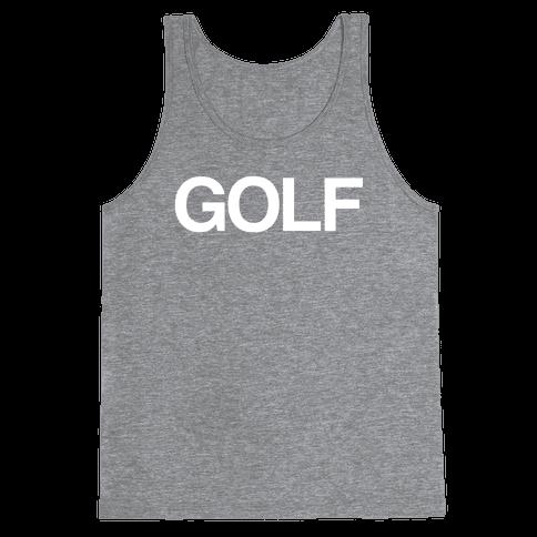 Golf Tank Top