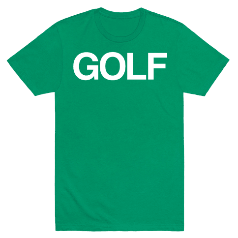 Golf Mens T-Shirt