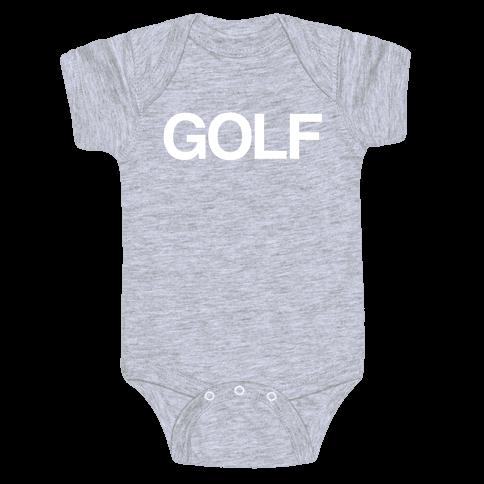 Golf Baby Onesy