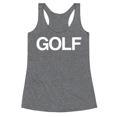 Golf Racerback Tank Top