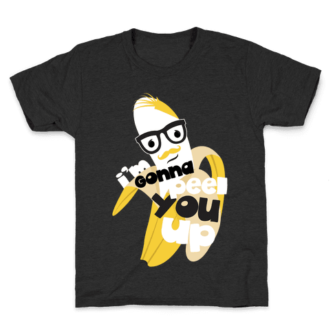 Creepy Banana Kids T-Shirt