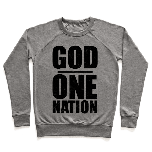 One Nation Under God Pullover