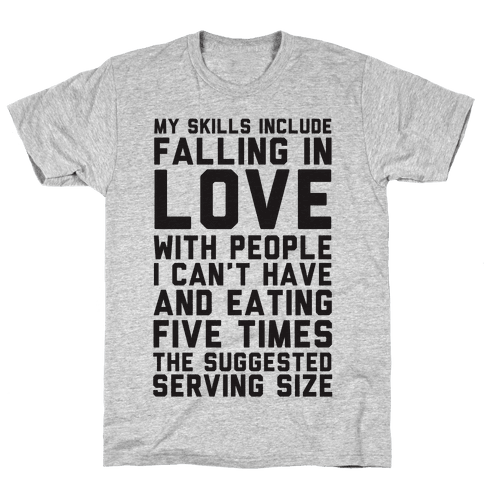 My Skills Include Mens T-Shirt
