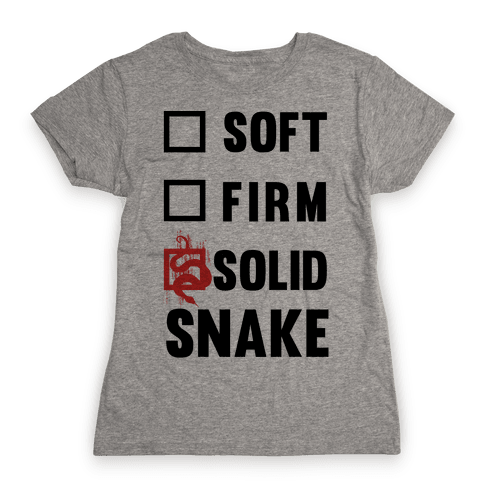 Solid Snake Womens T-Shirt