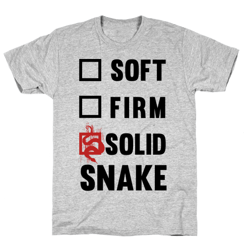 Solid Snake Mens T-Shirt