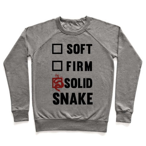 Solid Snake Pullover