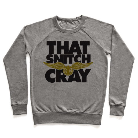 That Snitch Cray (Tank) Pullover