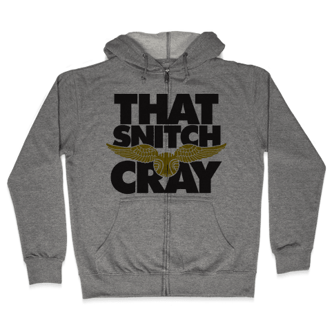 That Snitch Cray (Tank) Zip Hoodie