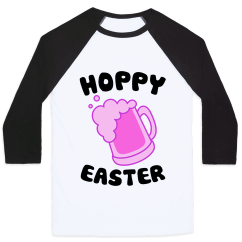 Hoppy Easter Baseball Tee