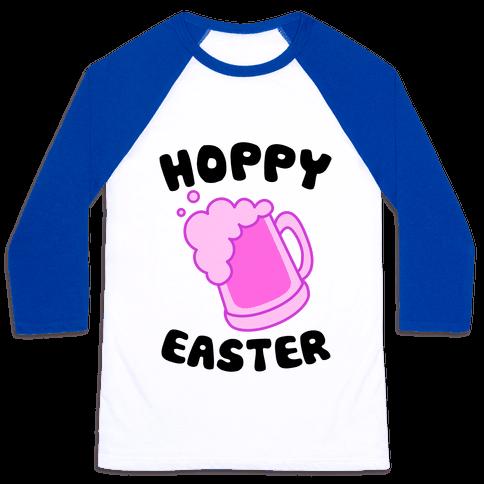 Hoppy Easter Baseball Tee