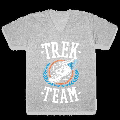 Trek Team V-Neck Tee Shirt