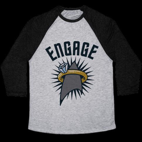 Engage! Baseball Tee