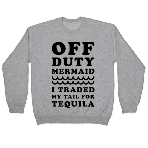 Off Duty Mermaid Pullover