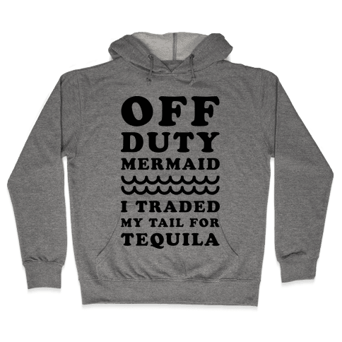 Off Duty Mermaid Hooded Sweatshirt