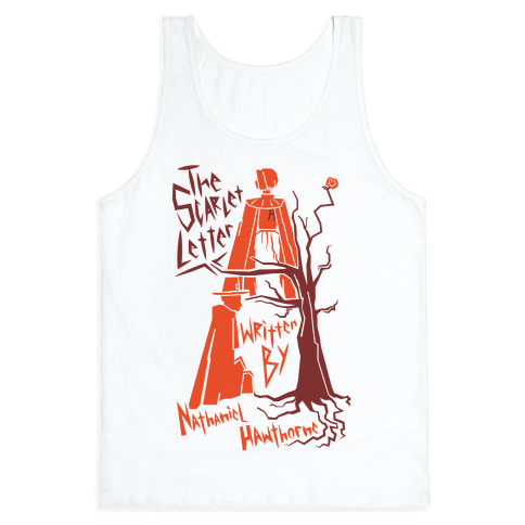 The Scarlet Letter Tank Top