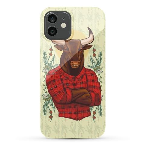 Flannel Taurus Phone Case