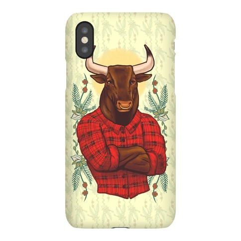 Flannel Taurus Phone Case