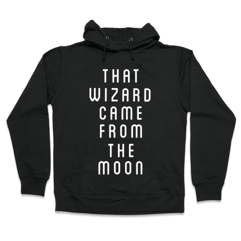That Wizard Came From The Moon Hooded Sweatshirt