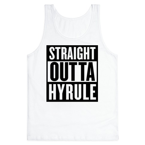 Straight Outta Hyrule Tank Top