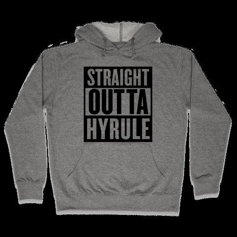 Straight Outta Hyrule Hooded Sweatshirt