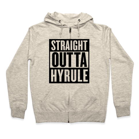 Straight Outta Hyrule Zip Hoodie